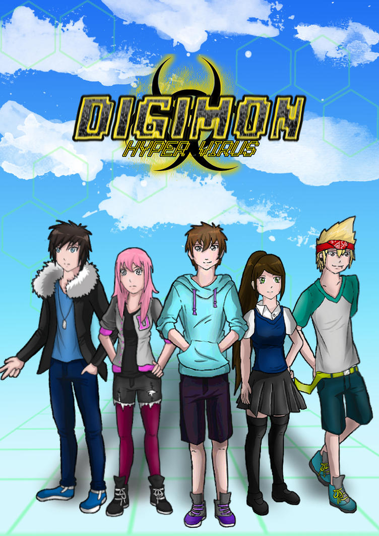 Digimon Hyper Virus - All DigiDestineds/Cover by BabydollStarCatcher