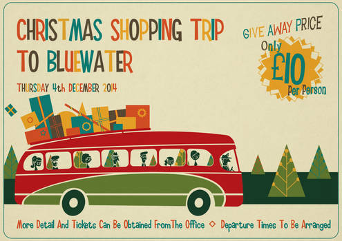 Christmas Shopping Trip Poster