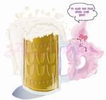 Dusha n beer by ADominicArts