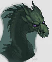Mischief dragon by SHADE-ShyPervert