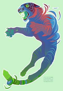 Tiger Print - Commission