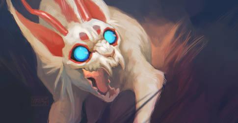 Demon snout by SHADE-ShyPervert