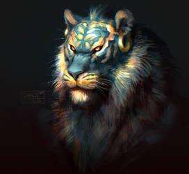 Tigerface by SHADE-ShyPervert