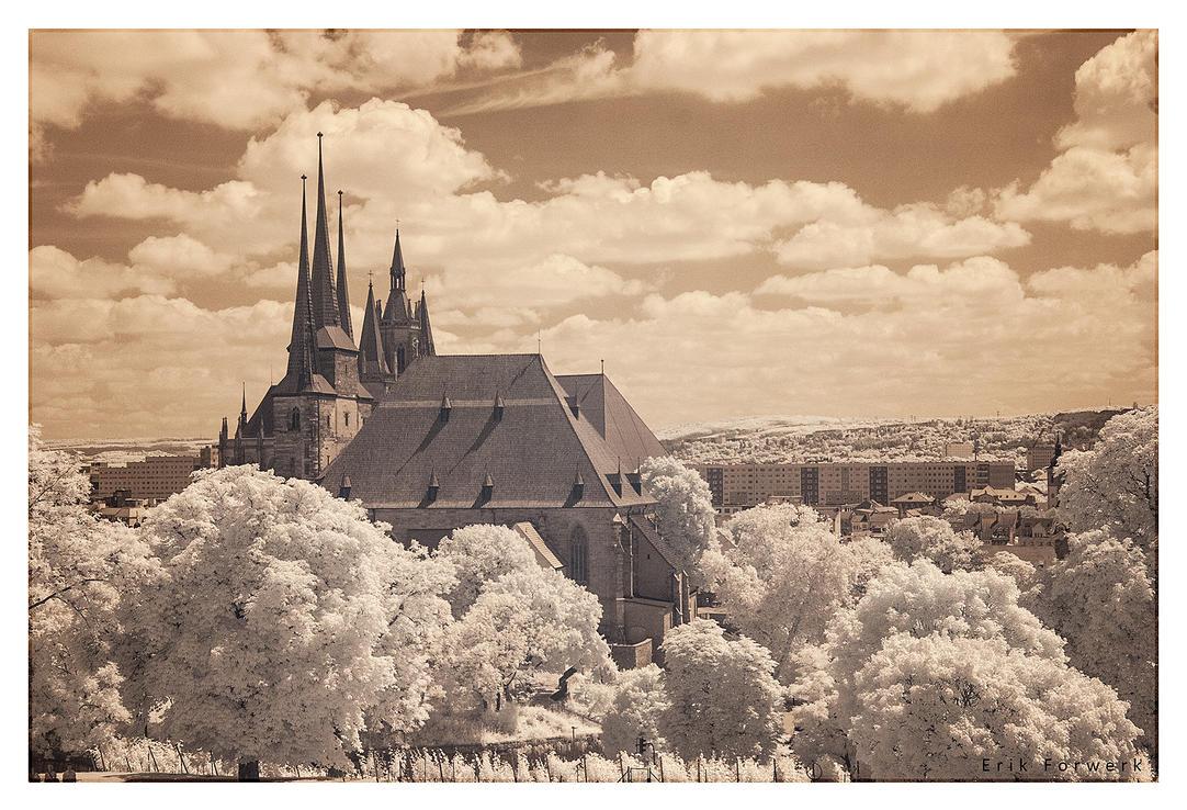 Dom zu Erfurt by 3rik