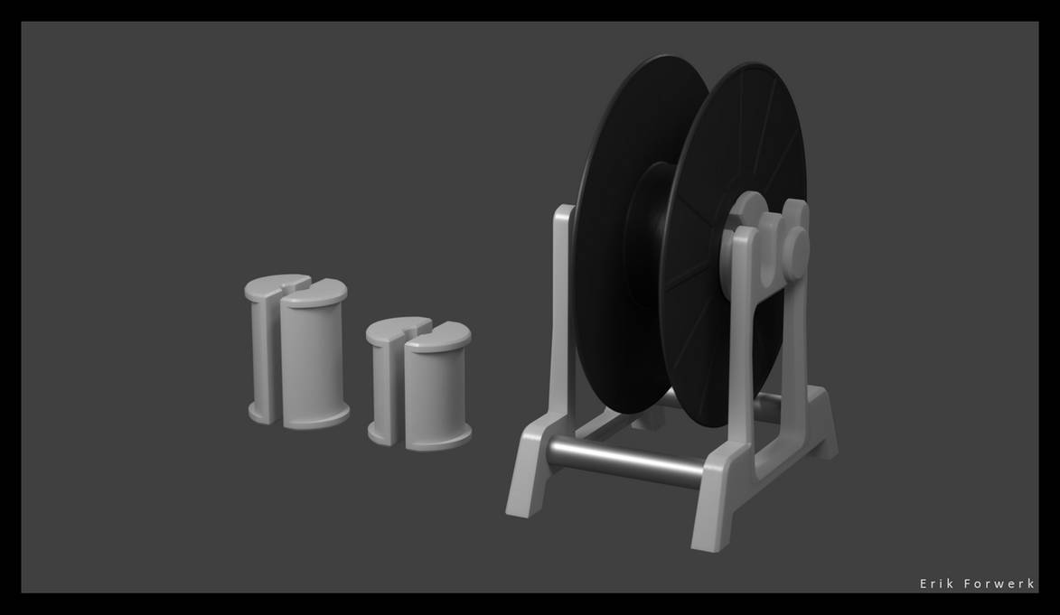 Filament-Reel-Holder by 3rik