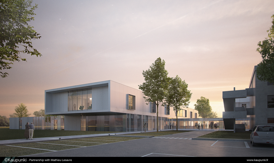Architectural Rendering N1 By Skunzful ...