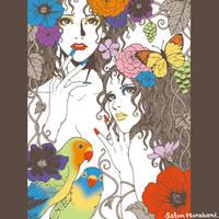 Flowers by sattantan