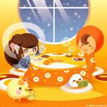 Kotatsu days by sattantan
