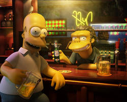 Wallpaper Simpson by Chicalatina1010