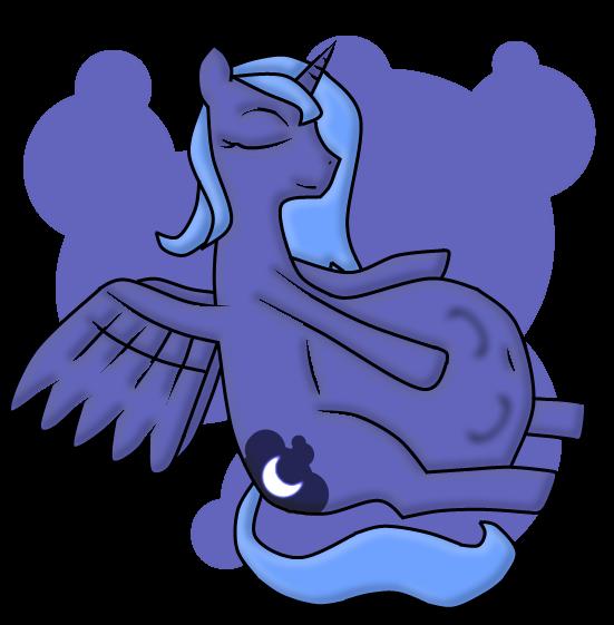 Mlp Pregnant Luna Luna vore by cloudmentality