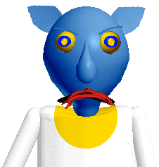 Hyness and Baldi !? by PikachuDM