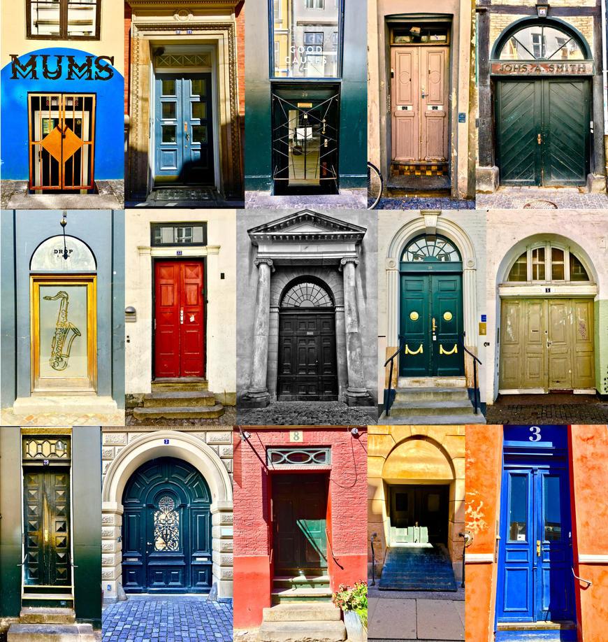 Doors of Copenhagen by JanneO