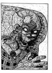 elderly zombie