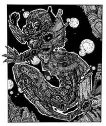 cyborg mermaid