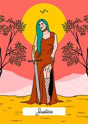 Tarot, Major Arcana - Justice