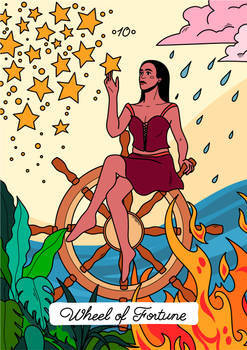 Tarot, Major Arcana - Wheel of Fortune
