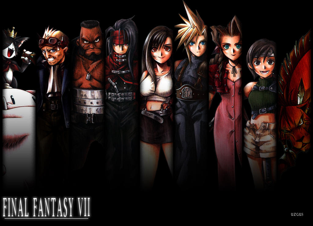 FINAL FANTASY VII Wallpaper By Christ139