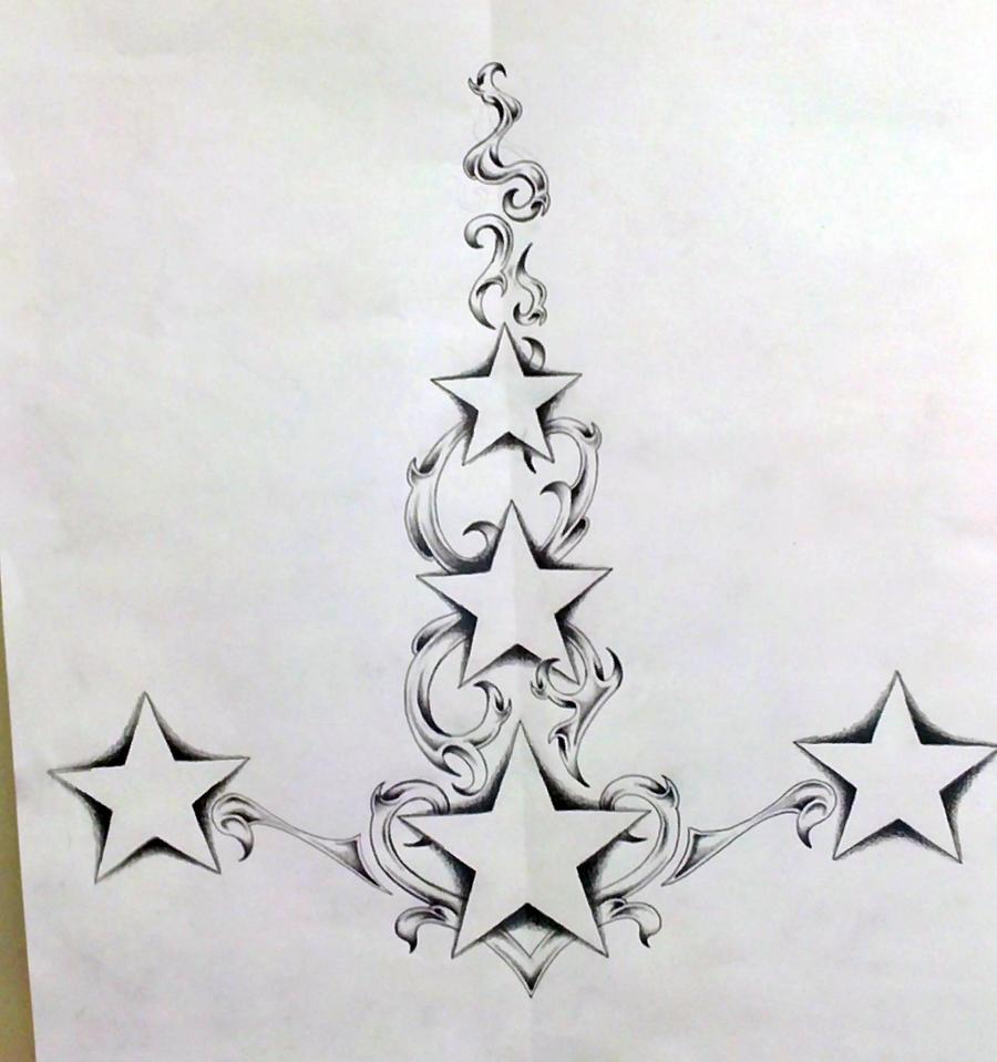 star 39 s for lower back up spine by ashtonbkeje on deviantart. Black Bedroom Furniture Sets. Home Design Ideas