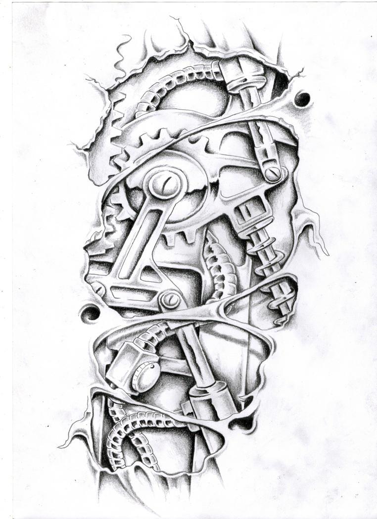 Mechanical by Ashtonbkeje on DeviantArt