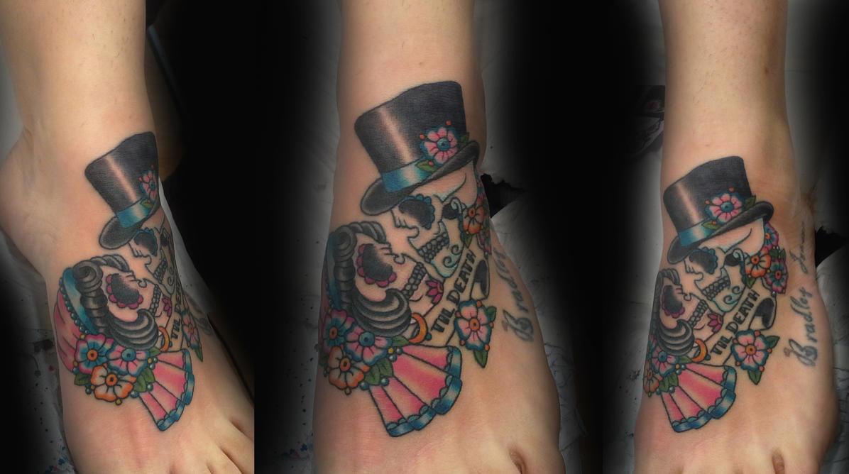 partner s wedding tattoo by ashtonbkeje d5vpo1a - Traditional Wedding Tattoos