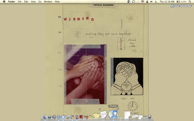 my desktop by hopesdream
