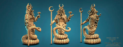 Cthulhu Chess Set: The Queen By Sergio Mengual by SergioMengual2012