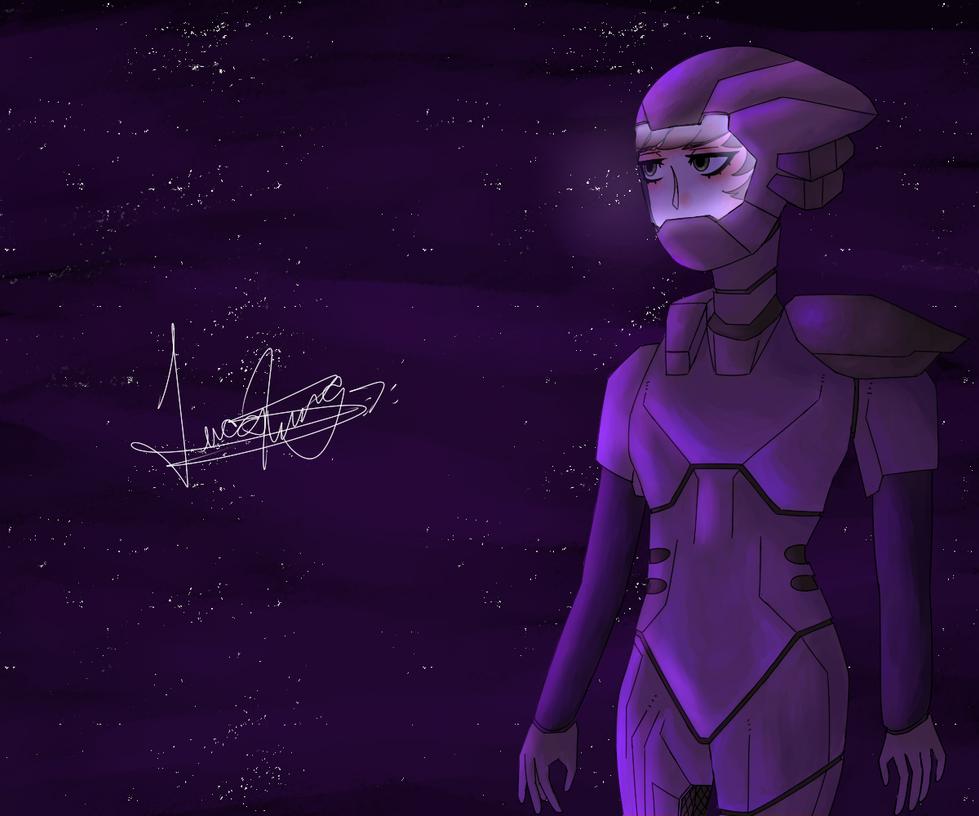 Random Drawing: Space Trash by LoskaNumbNutsG4