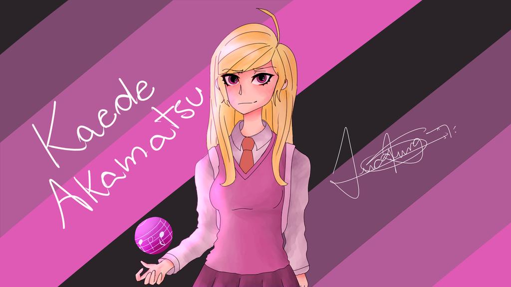 Random Fanart: Kaede Akamatsu (Danganronpa 3: KH) by LoskaNumbNutsG4
