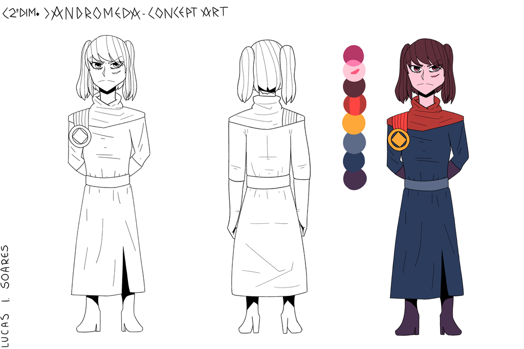 Concept Art: Andromeda (Second Dimension) by LoskaNumbNutsG4