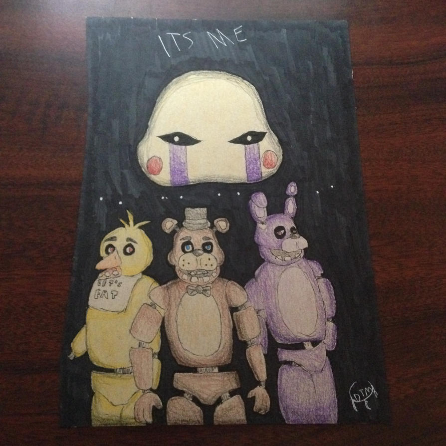 Five Nights at Freddies GIFT by dragonflyxsilver
