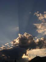 tonight's sky...aug 2nd 2015 by BlueIvyViolet