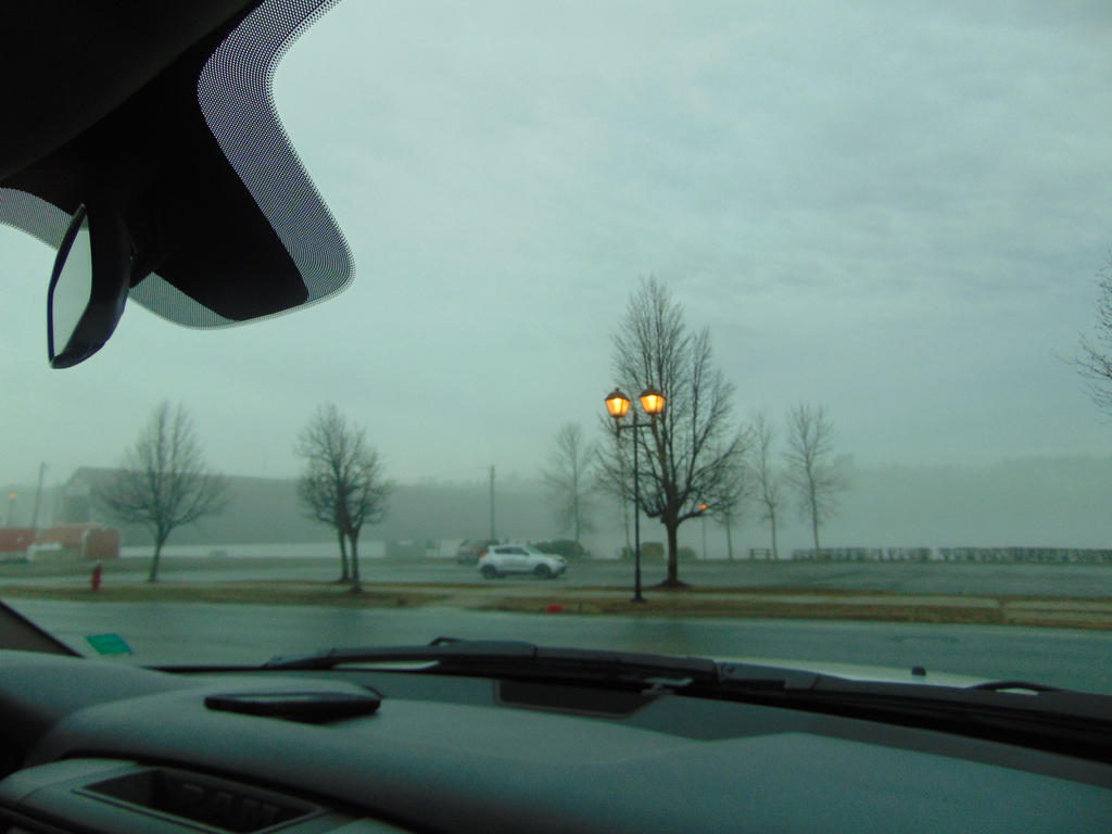 One Foggy Morning by BlueIvyViolet