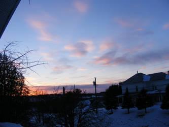 last night's sunset by BlueIvyViolet
