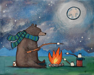 Camping with Mice by andralynn