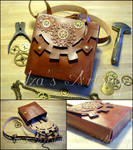 Steampunk Shoulder Bag IV