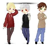 Pixel Trio by KalteEinsamkeit