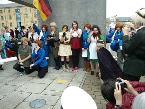 London Hetalia Meet - GerIta