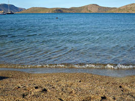 Beach. Elounda, Crete