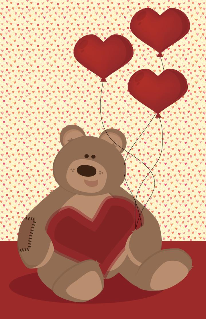 .:Teddy Valentine:. by purpleoctopussy