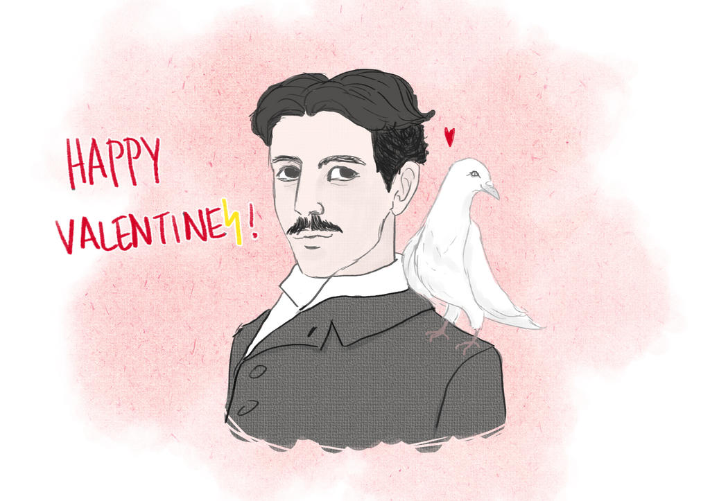 Happy Valentines From Tesla! by trepas