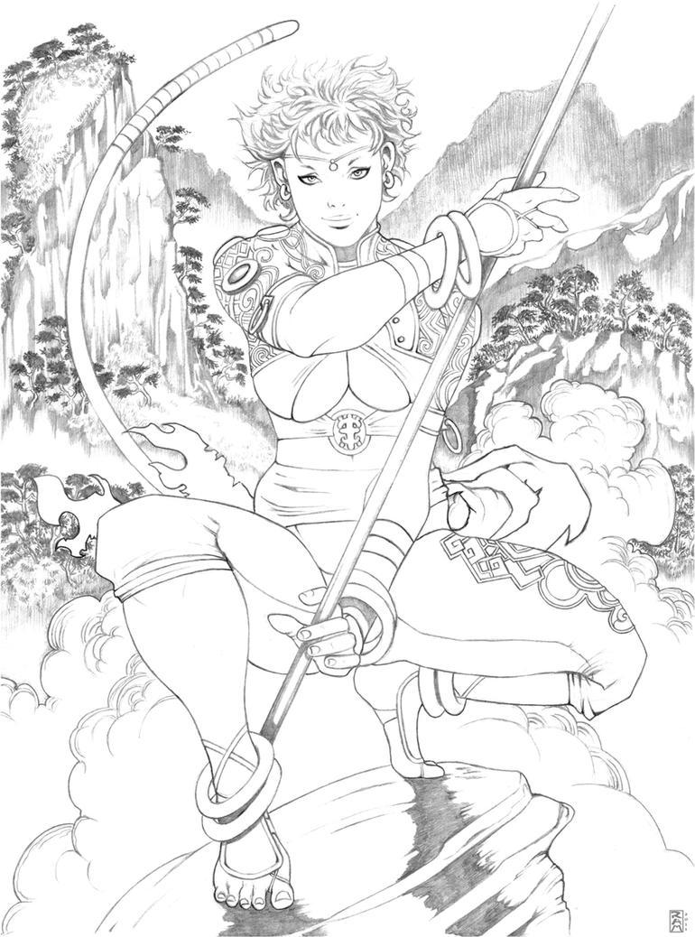 Sun Wukong by RamArtwork