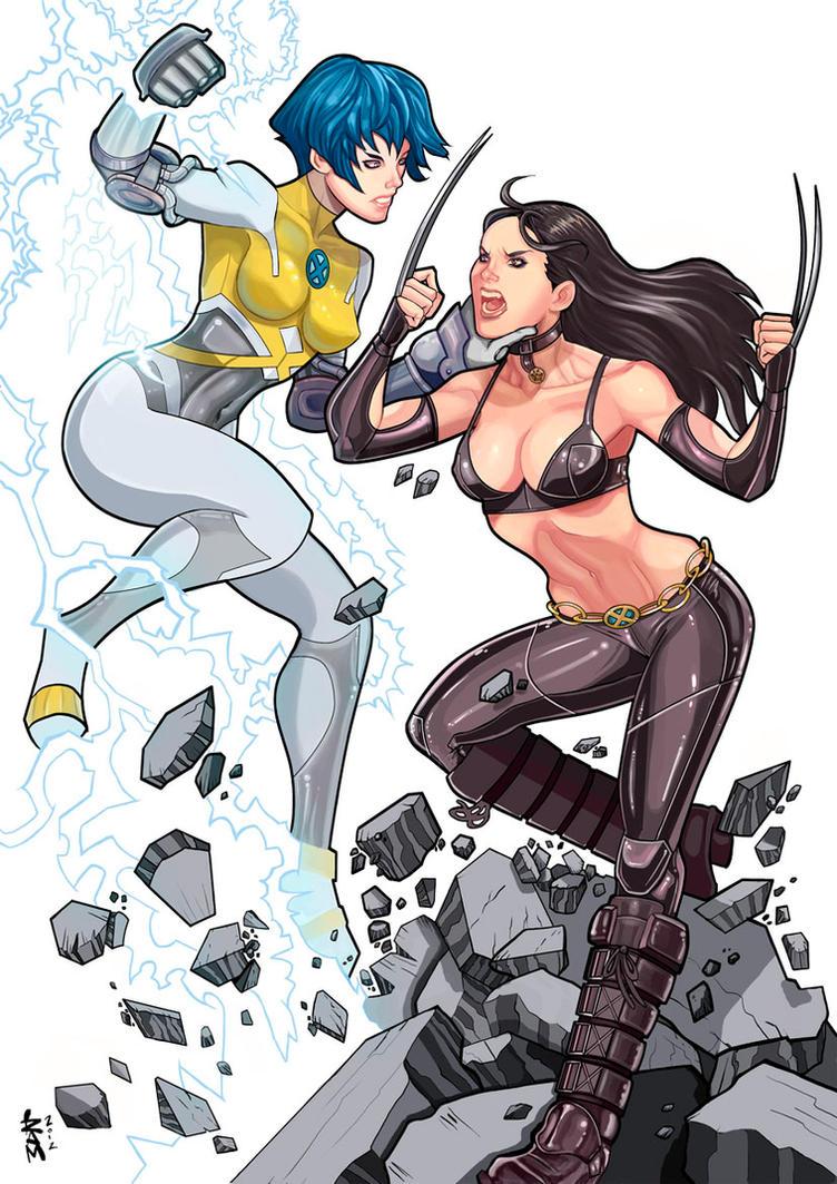 Surge vs X-23 by RamArtwork
