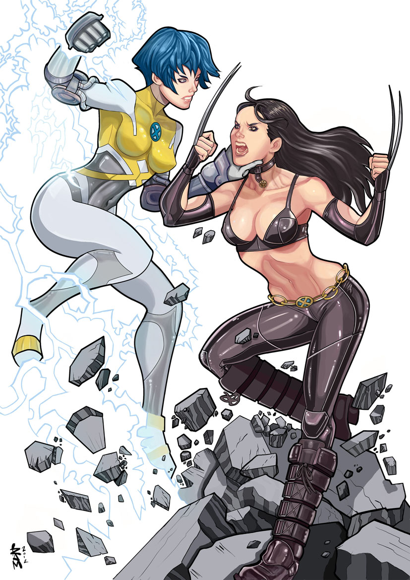Surge vs X-23 by RamArtwork