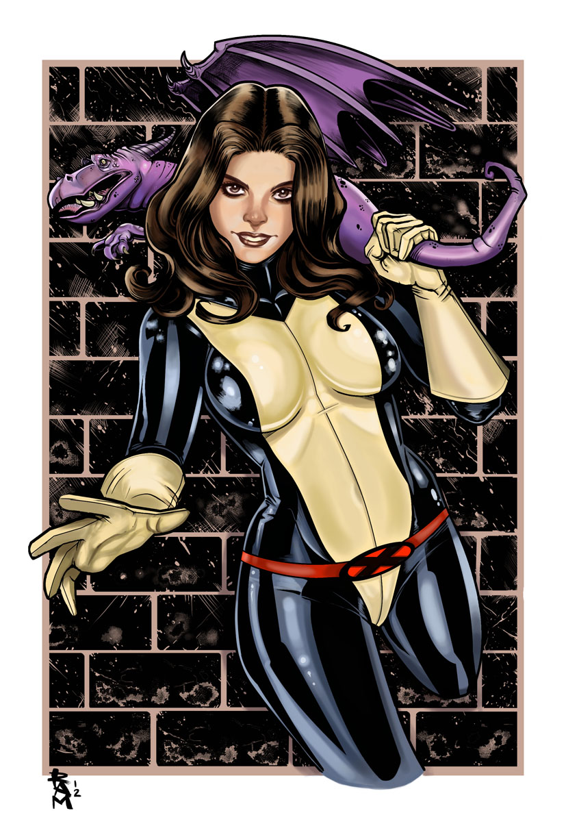 Kitty Pryde color by RamArtwork