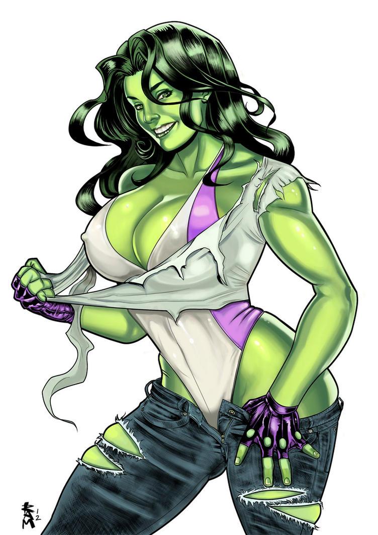 Sexy she hulk boobs — photo 3