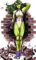 She-Hulk 2 color