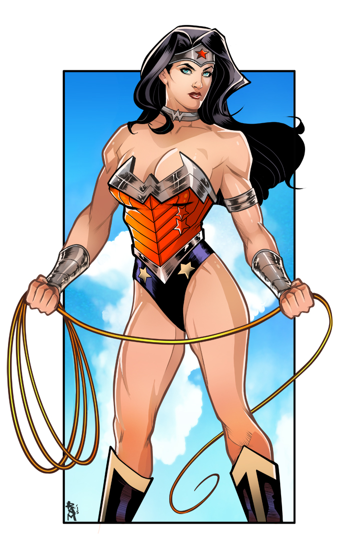 Wonder Woman color by RamArtwork