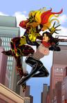 Silk vs Scream by RamArtwork