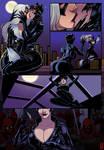 Catwoman x Black Cat comic