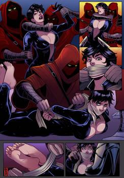 Catwoman x Black Cat comic 2